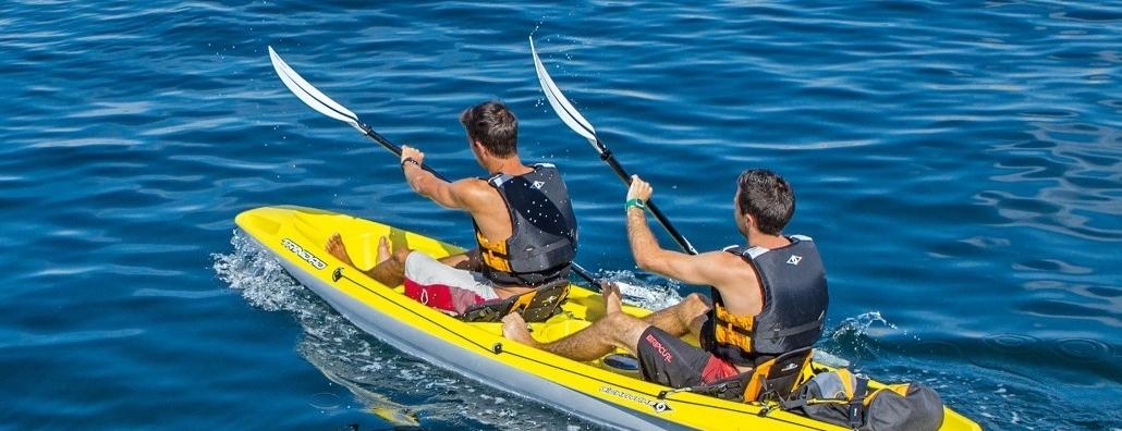 Le kayak, les différents types de kayaks