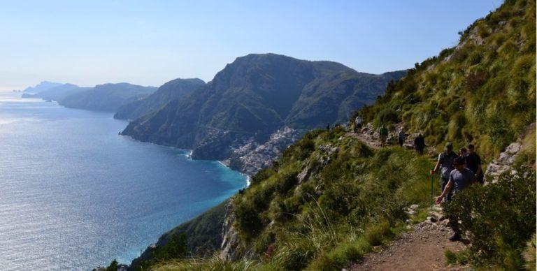 Trekking sur le Chemin des Dieux en Italie