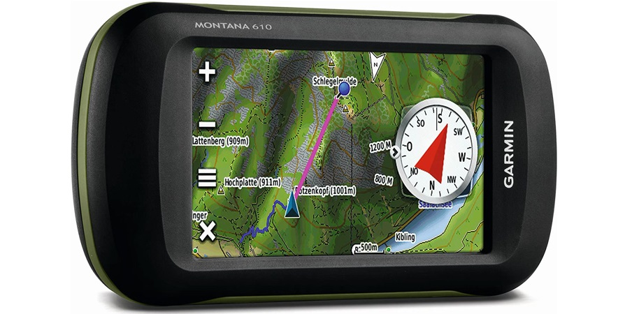 GPS de trekking Garmin Montana 610: Avis